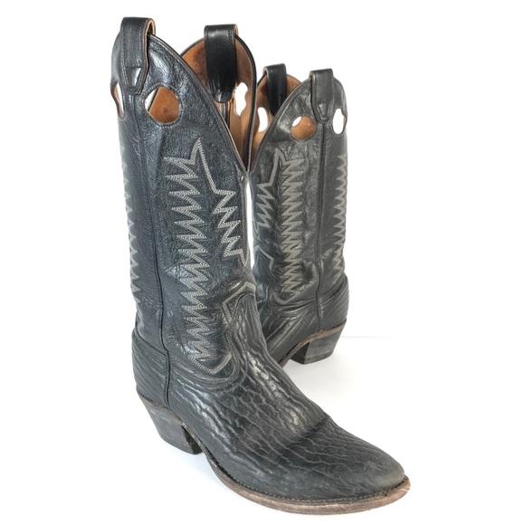 Biltrite BOULET Mens Cowboy Western Boots Leather
